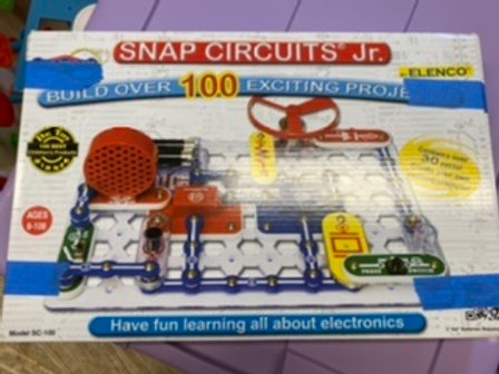 Snap circuits jr Learning about electronics