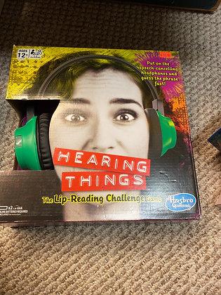 NIB hearing things
