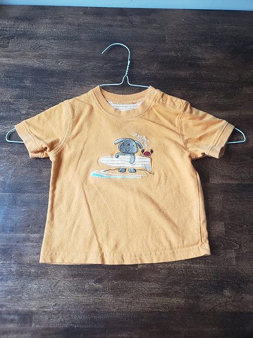 Carter's Orange Surfer dudes shirt