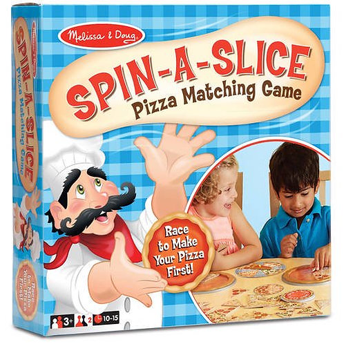Melissa and Doug Spin a Slice Pizza Matching Game