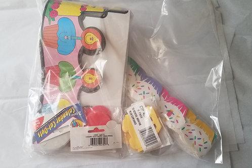 teacher supplies birthday crowns cupcakes