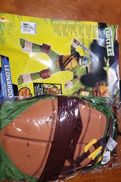 TMNT Leonardo costume never worn, no mask
