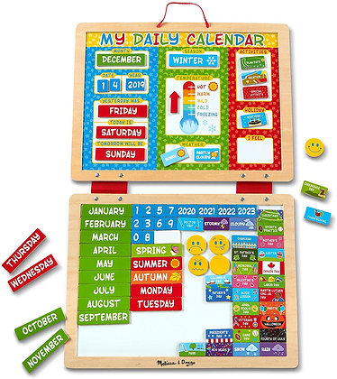 Melissa & Doug My First Magnetic Calender