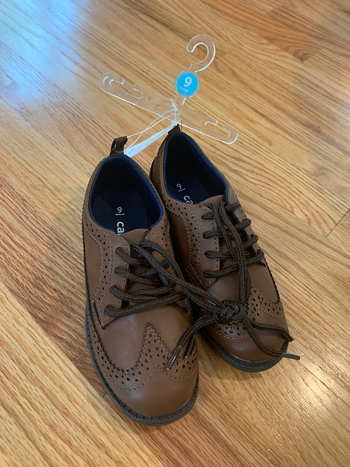 Carters Wing tip shoes, new