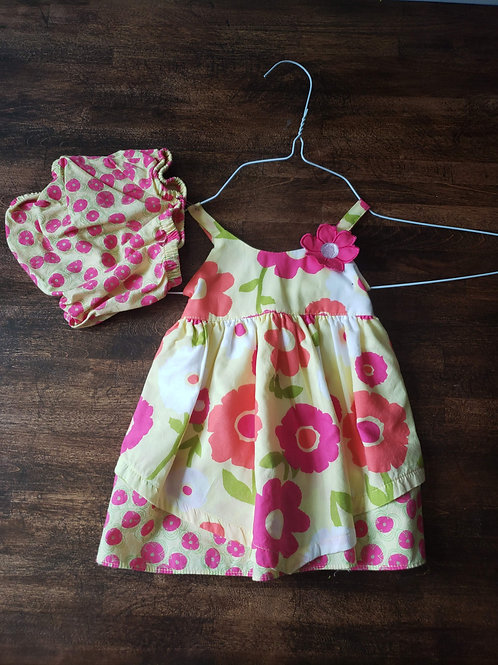 Penelope Mack Flower dress w/bloomers