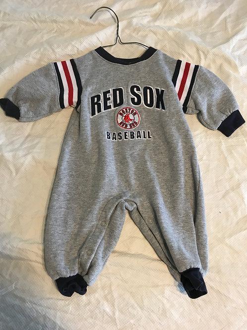 Majestic Red Sox 1pc Grey sweatshirt mat.