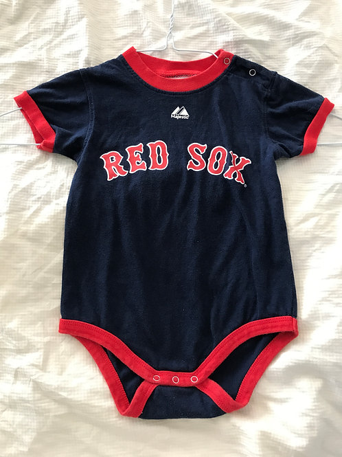 Majestic Pedroia onesie SS Red Sox