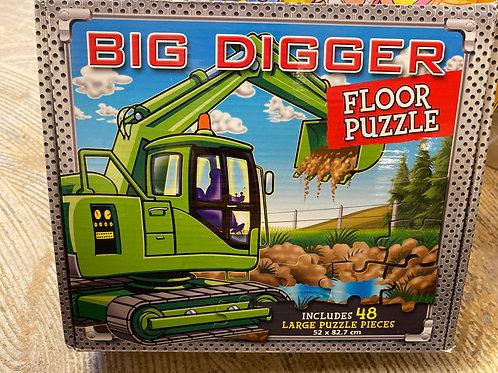 Big digger Floor puzzle 48pc