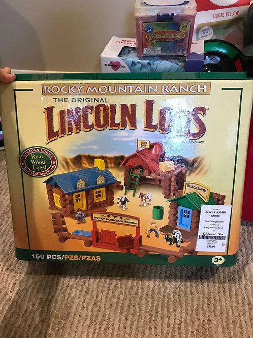 Lincoln Logs Rocky Mountain Ranch