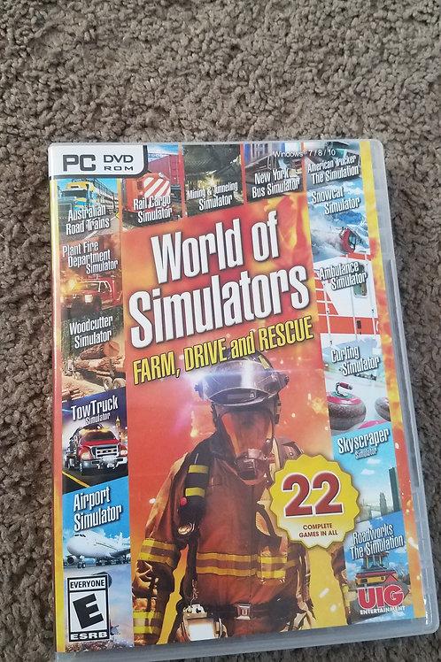 World simulator pc Software