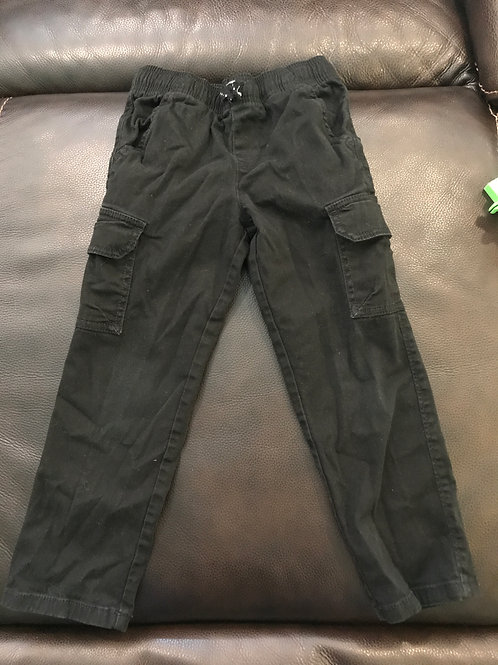 Jumping Beans cargo Chino black pull on