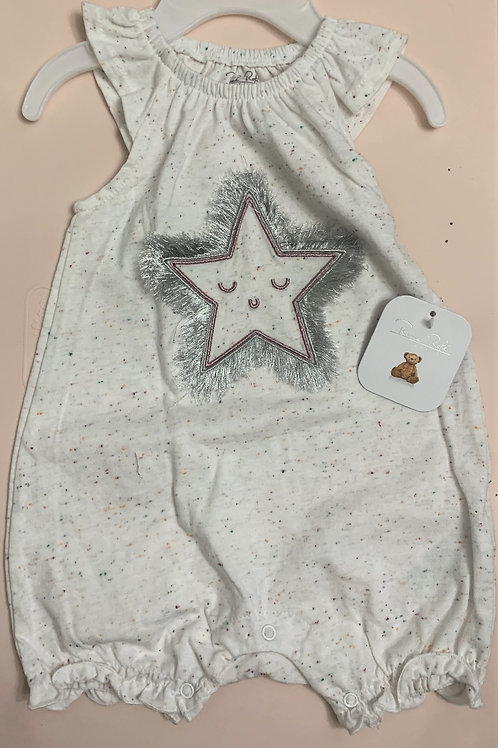 Rene Rafe baby romper with star