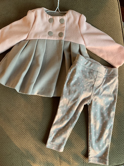 Tahari baby coat & pants