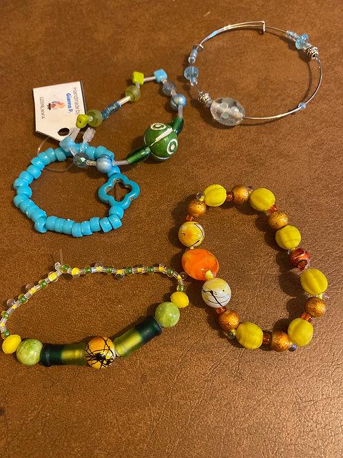 Girlscout bracelets Homemade 5