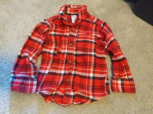 Carter's Red flannel LS