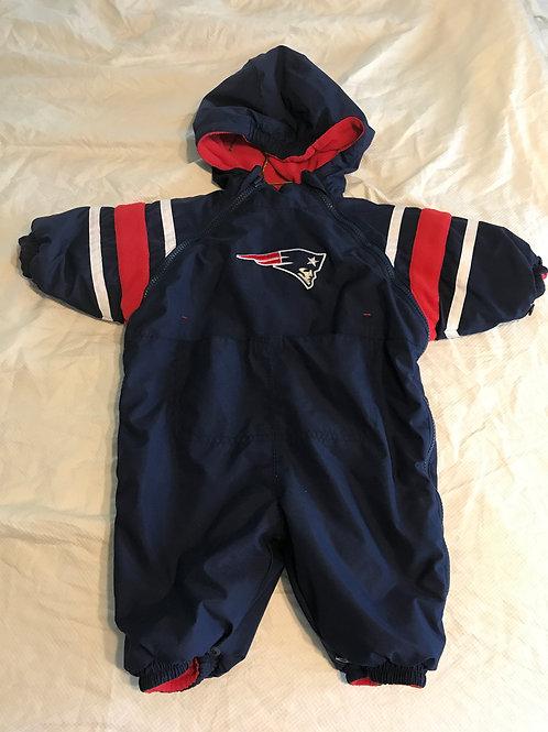 6-9m Patriots Snow suit