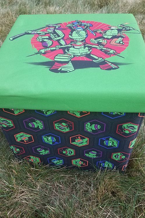 ninja turtle toy storage cube