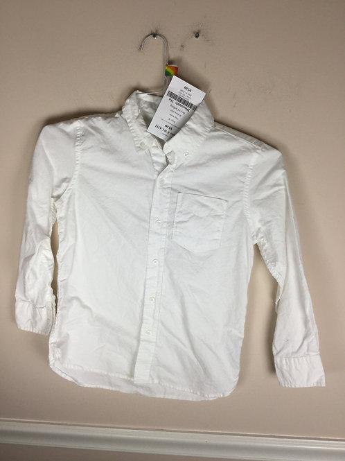 Gap white B dress shirt