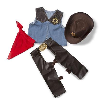 Melissa & Doug Cowboy Role-Play Costume