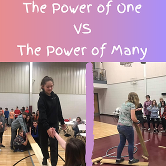 The Power of One VS The Power of Many.pn