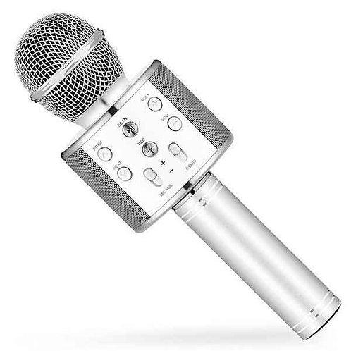 Karaoke microphone Silver