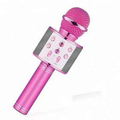 Karaoke microphone Pink