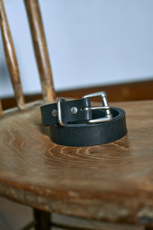 LONG LEATHER BELT REGULAR