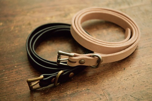 LONG LEATHER BELT SLIM