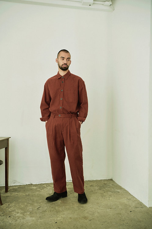 2 TUCK EASY TROUSERS