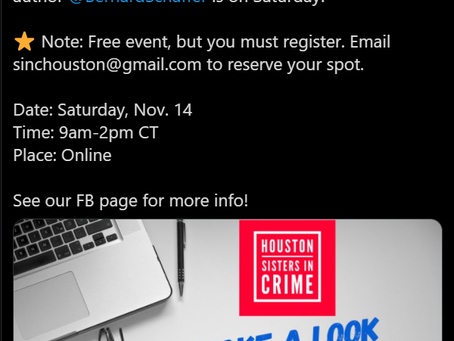 Sign Up For My Free Writing Class Saturday 11/14