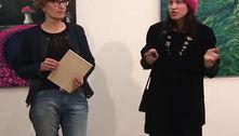 Відео з відкриття виставки                                           -КОРОТКА ЗУСТРІЧ-