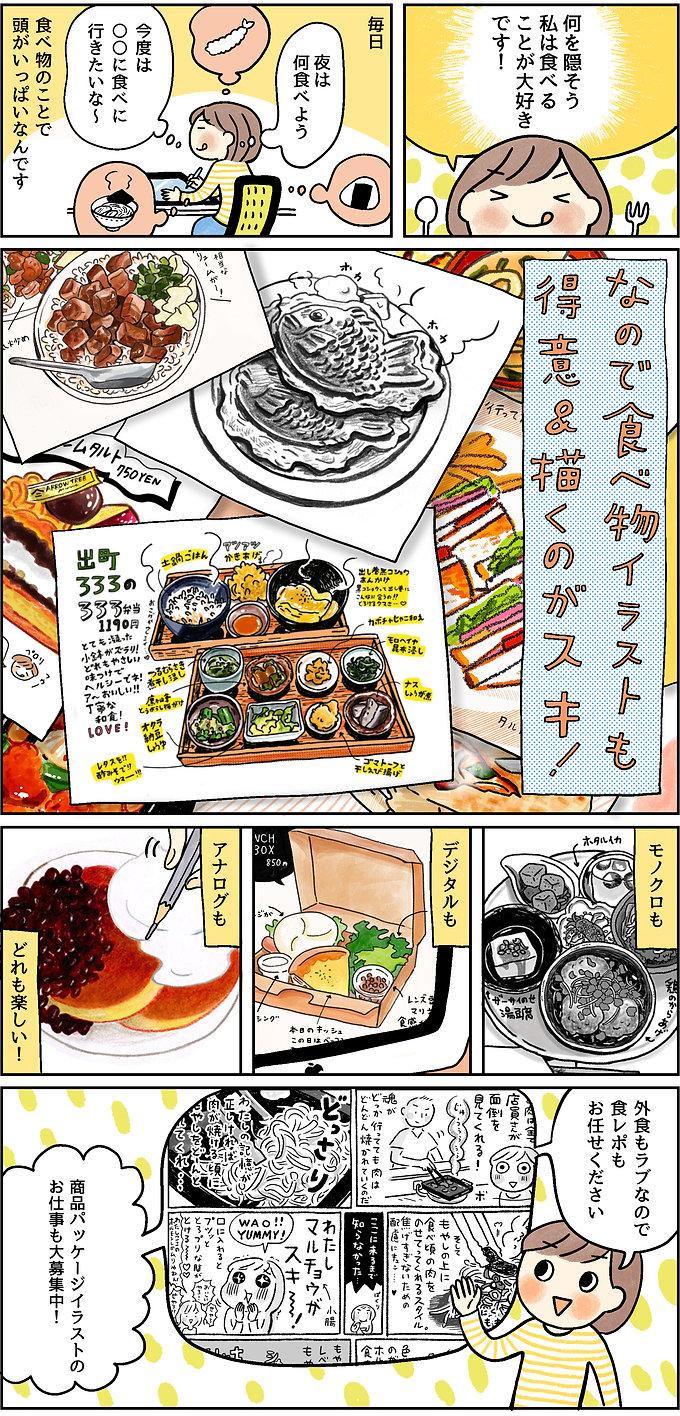 食べ物ページ