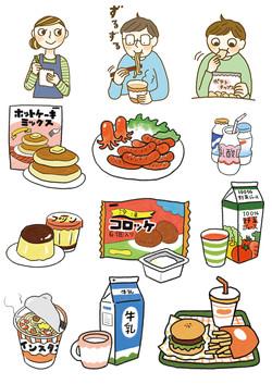 「お母さんのための危ない健康食品の話」イラスト&漫画<三才ブックス>