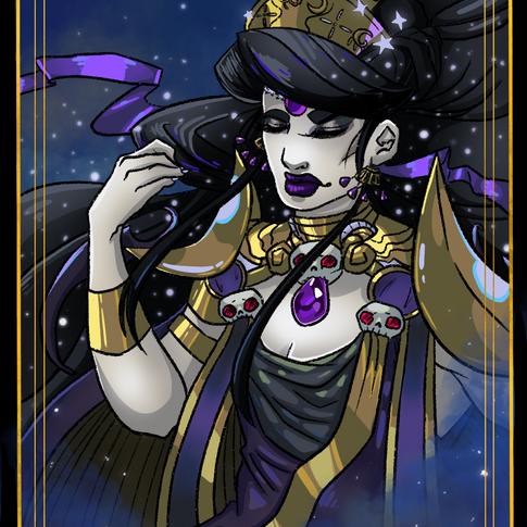 II, The High Priestess, Nyx