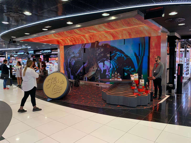 Flor De Caña Duty Free Madrid Barajas By Nexus Ideas Miami