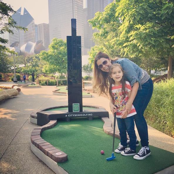 City Mini Golf Family Fun