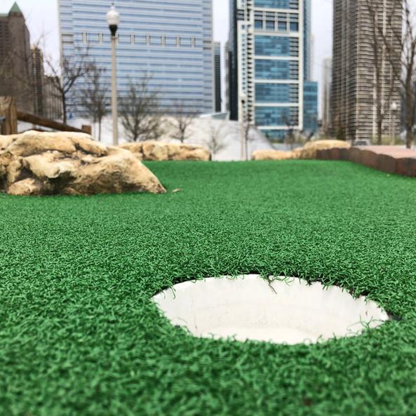 City Mini Golf Hole