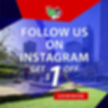 Follow us on Instagram for $1.00 off your ticket price