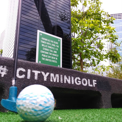 Follow City Mini Golf on Instagram
