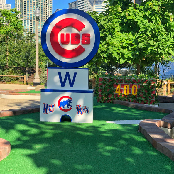 Chicago Cubs Hole