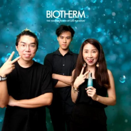 Biotherm Green Screen Gif Booth