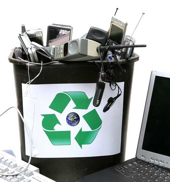 E-waste junk