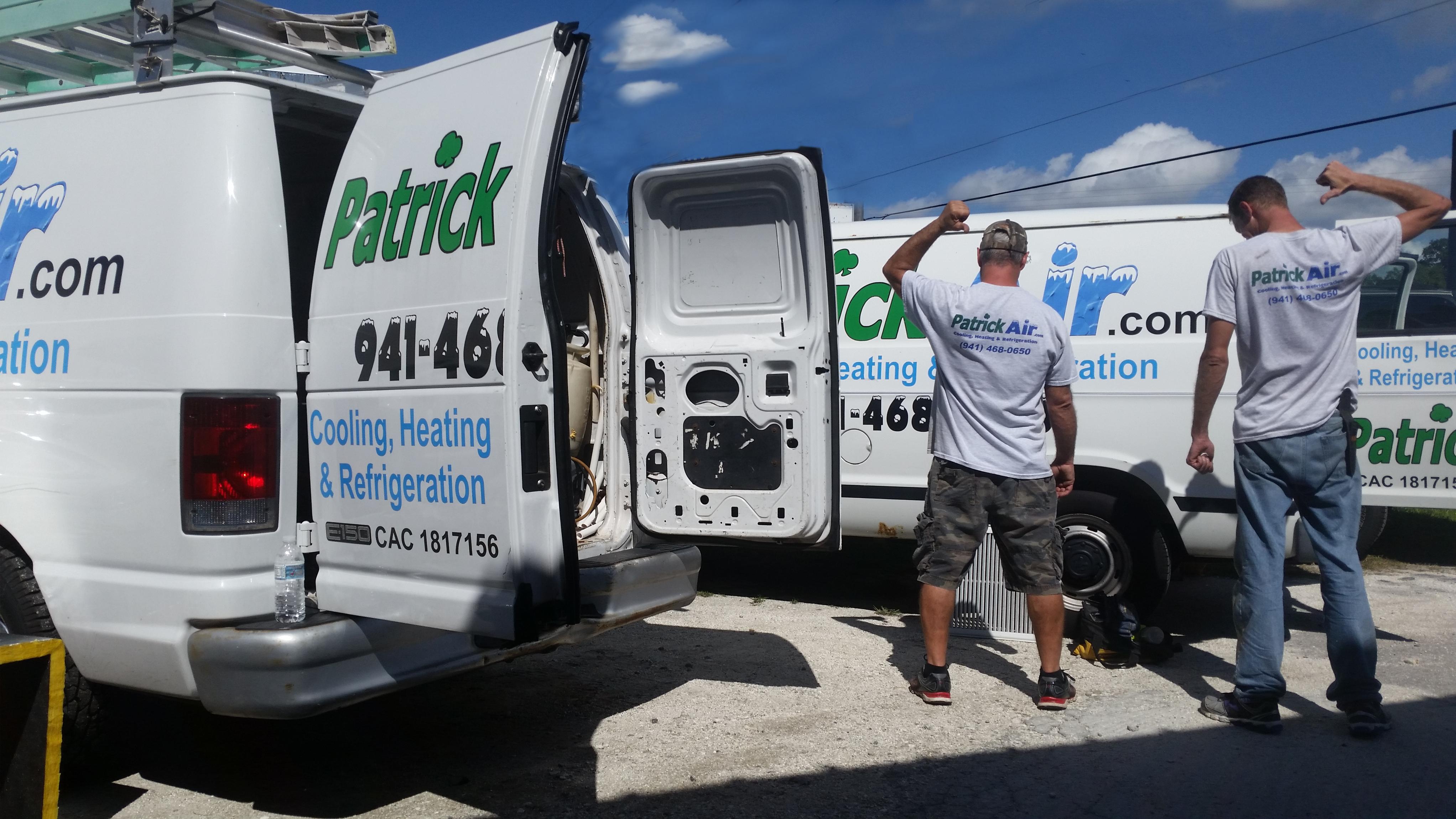PatrickAir Cooling, Heating & Refrigeration Contractor in Venice, FL
