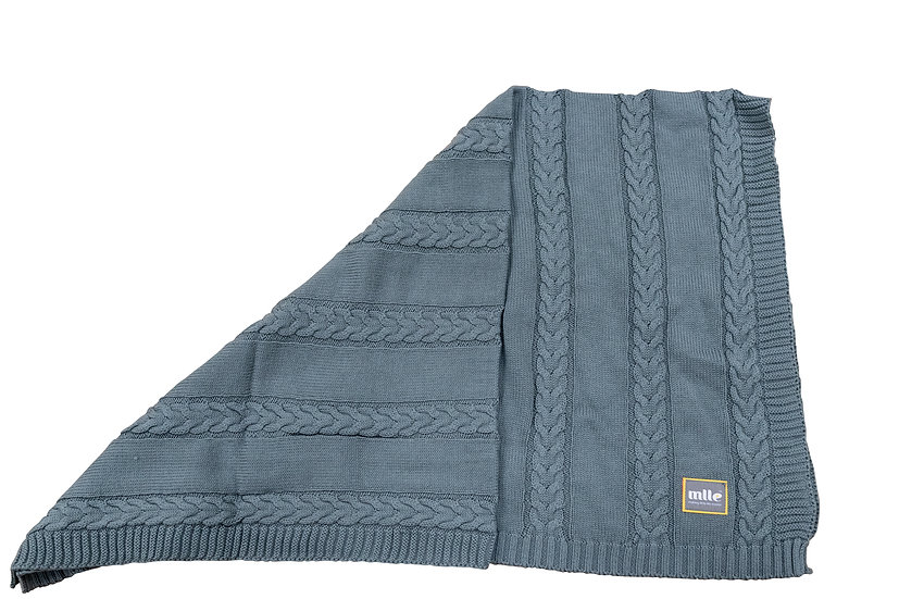 Mlle Blanket - 100% Natural Cotton