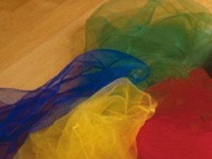 Nylontuch in verschiedenen Farben erhältlich (pro Stück)