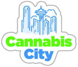 Cannabis City Vertical Logo Bold CMYK