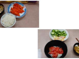 一人夕食~刺身定食~