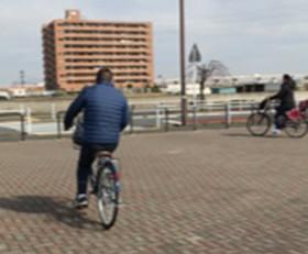 自転車の練習