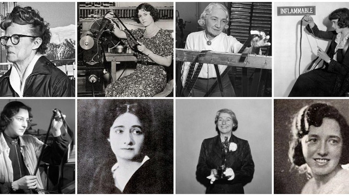 The Celluloid Void Project: A Compendium of Female Film Editors, 1900–1950
