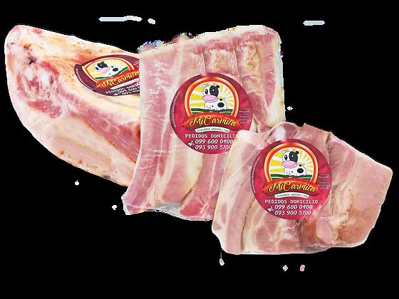 Costilla de cerdo ahumada